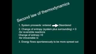 Thermodynamics: What is Entropy (2nd law)