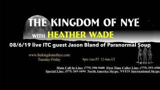 Heather Wade Kingdom of Nye 08/06/19 we just start our first ITC session