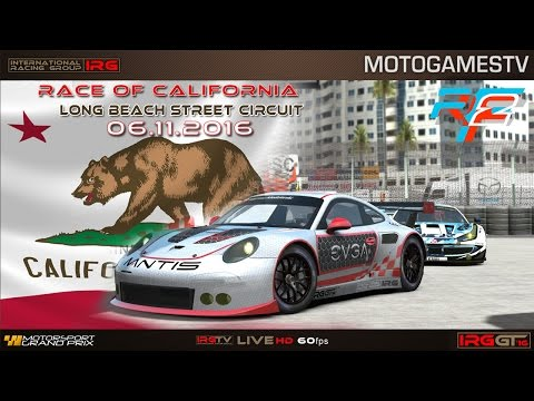 IRG World - rFactor 2 - IRG GT 2016 - America Grand Prix (Ro