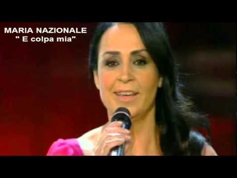"""Maria Nazionale - """" E Colpa Mia"""" - Sanremo 2013"""