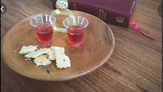 Holy communion service Day 8: Apostle Fred