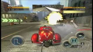 Full Auto Xbox 360 Gameplay - Rampage Direct Feed pt 2