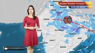 Weather Forecast for July 26: Rain in Delhi, Haryana, MP, Rajasthan