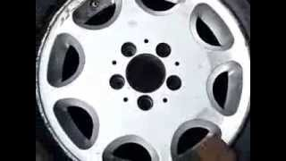 Как востановить литые диски самому.29.10.2013