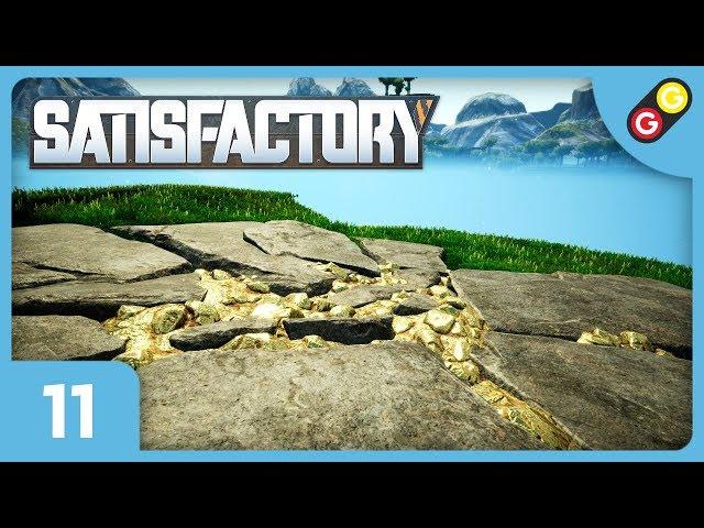 Satisfactory #11 On trouve un filon de caterium ! [FR]