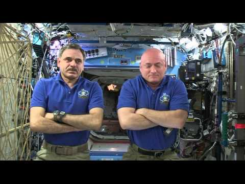 One Year Mission Crew Members Discuss Life and Research in Space