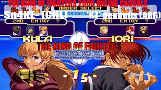 Fightcade [HD] - King of Fighters 2000 online casuals -Sn4KE- (CHL) vs. *KZ* geminiis (ARG)