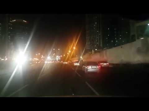Driving from Katara to Fariq al Nasr st.