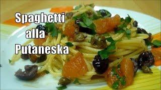 Spaghetti Sauce Recipe Spaghetti alla Putaneska Italian Food #food
