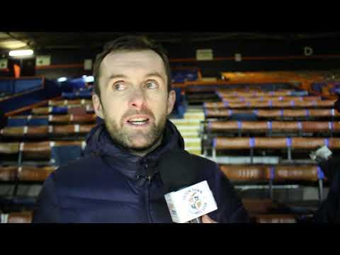 Nathan Jones on the 2-0 victory over Burton Albion