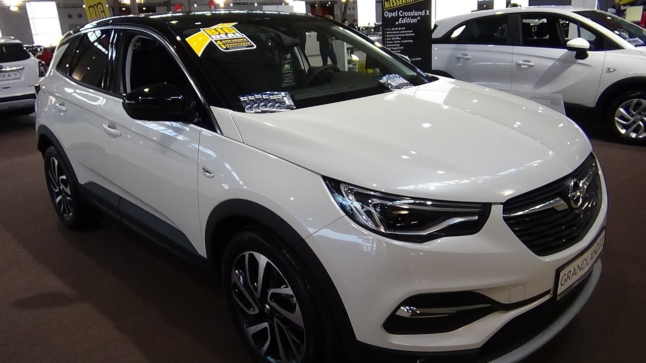 2018 opel grandland x 1 2 innovation exterior and. Black Bedroom Furniture Sets. Home Design Ideas