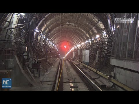 Chinese-built metro tunnel in Moscow to be drilled through