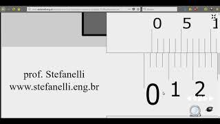 Nonio (Vernier) en milésimas de pulgada 0.001 in