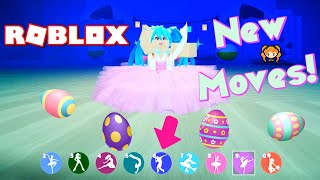 ROBLOX DANCE YOUR BLOX OFF Easter Bunny Update and New Dance Moves!