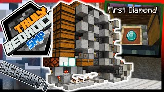 Diamonds, Multi-Sorting Storage System, All Mine!!! - Truly Bedrock Season 1 EP 18
