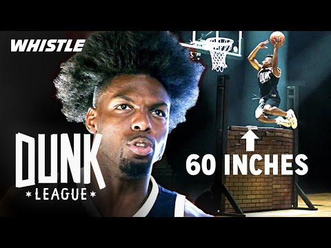 HIGHEST Over The Wall Dunk | $50,000 Dunk Contest