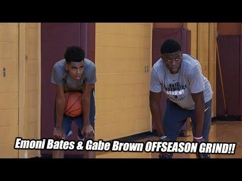 #1-sophomore-emoni-bates-&-michigan-state's-gabe-brown-offseason-grind!!-full-workout
