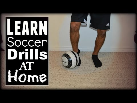 Soccer Drills At Home: Ball Control, Footwork & Passing Drills from YouTube · Duration:  3 minutes 56 seconds