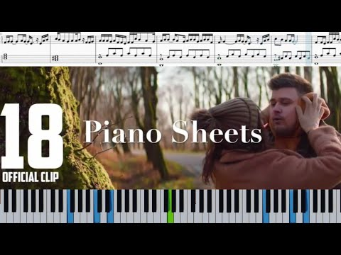 NECHAEV 18 НОТЫ (Piano Sheets) #NECHAEV18 (Забирай меня скорей, Руки Вверх cover) #PianoSheets