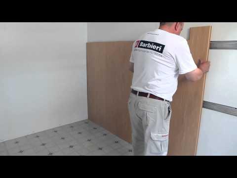 Instalaci n de un revestimiento de pared de pvc perfilplas - Aplicacion de microcemento en paredes ...