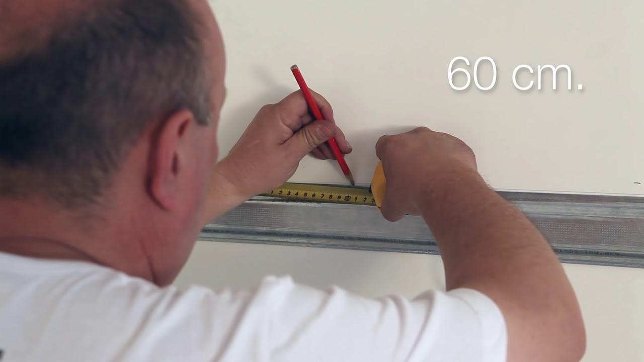 Instalaci n de un revestimiento de pared de pvc perfilplas for Placas pvc para paredes
