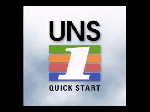 Universal UNS 1tutorial