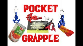 Pocket Grapple Demonstration -Toy Mechanical Claw- Available Now!