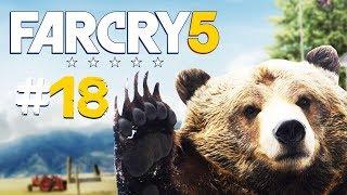 Zagrajmy w FAR CRY 5 PL #18 - POLOWANIE NA GRIZZLY + NOWY POMOCNIK - Polski gameplay