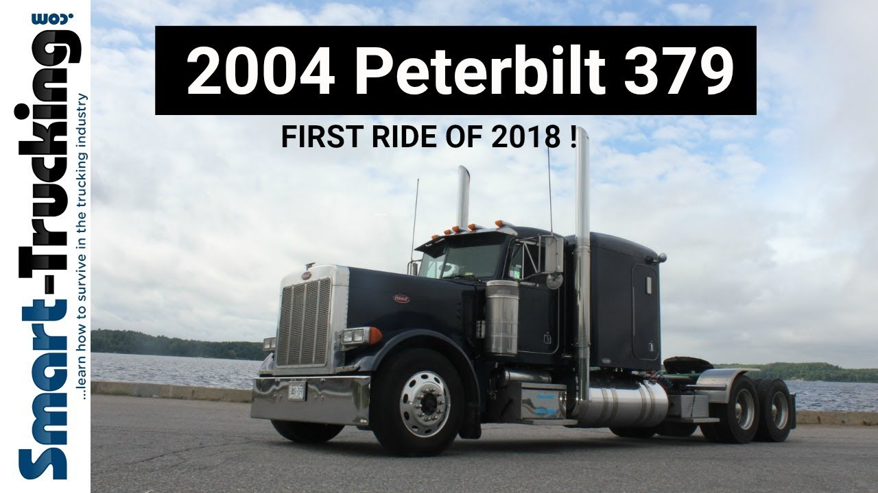 2004 Peterbilt 379 - First Ride of 2018!