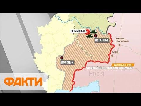 Ситуация на Донбассе: