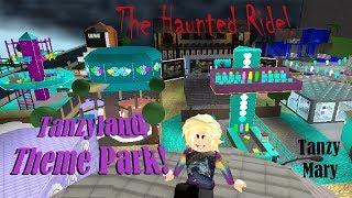 Roblox: Bloxburg   Crazy Theme Park Haunted Ride Adventure Part 2