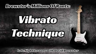 Vibrato Technique