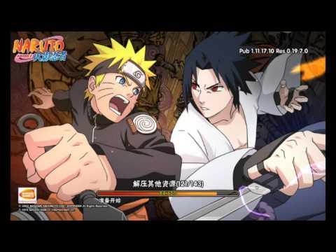 Полная установка игры Naruto mobile