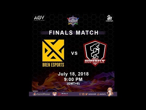 Bren Esports vs. EurasiaSuperfly - BO7 Finals Match - AOV To