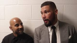 'OSCAR DE LA HOYA TOLD ME I CANT RETIRE! -TONY BELLEW WITH TRAINER DAVE COLDWELL ON WHAT OSCAR SAYS