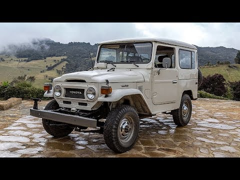 1978 Toyota Land Cruiser FJ40 Restoration Project