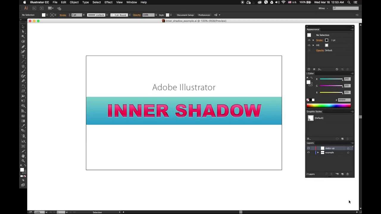 inner shadow illustrator
