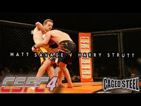 Matt Savage V Harry Strutt - CSFC4 combatsport.tv March 16th, 2013 MMA