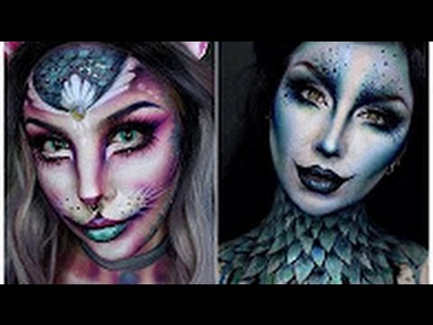 Top 15 Easy Halloween Makeup Tutorials Compilation 2016 #2