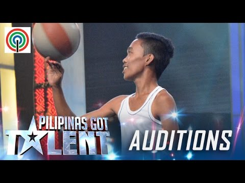 Pilipinas Got Talent Season 5 Auditions: Mark Mestiola - Basketball Tricks