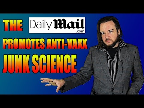 The Daily Mail Promotes Anti-Vaxx Junk Science