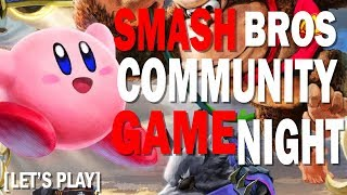 Super Smash Bros Ultimate | Community Game Night  | !discord | Exodus 90 Day 1