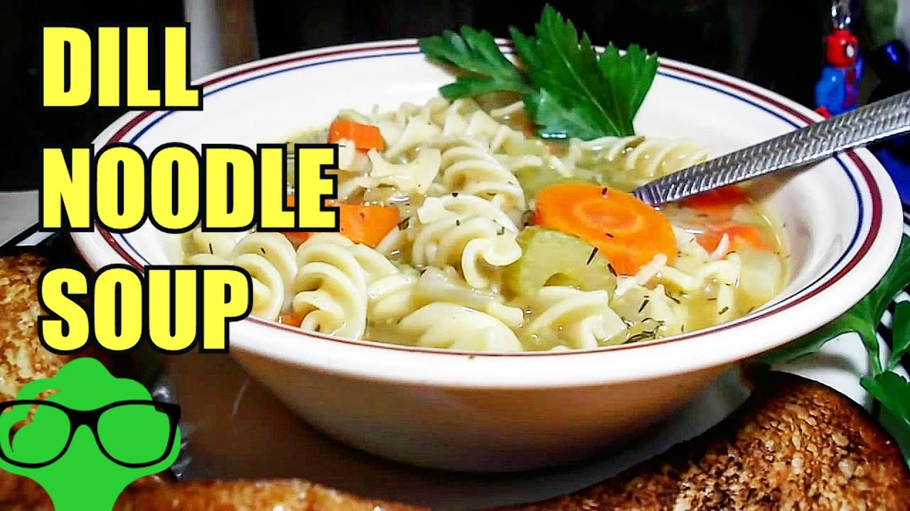 How To Make Home Style Veggie Noodle Soup Vegetarian Vegan Friendly Recipe Youtube