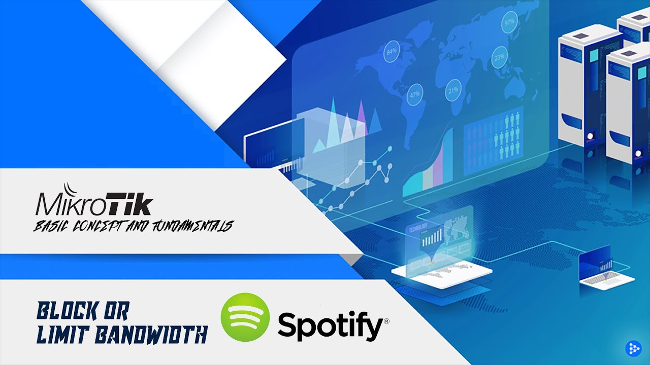 MikroTik how to block or limit spotify traffic