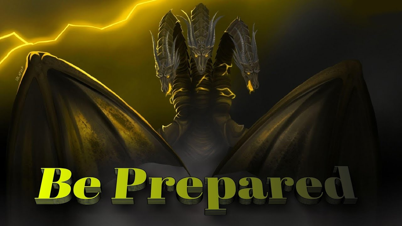 """""""Be Prepared"""" By Chiwetel Ejiofor - King Ghidorah - Godzilla King of the Monsters Music Video."""