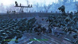 Fallout 4 - ARENA NPC BATTLES