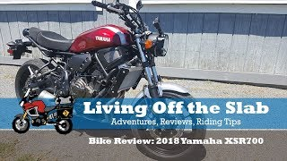 2018 Yamaha XSR700, Bike Review