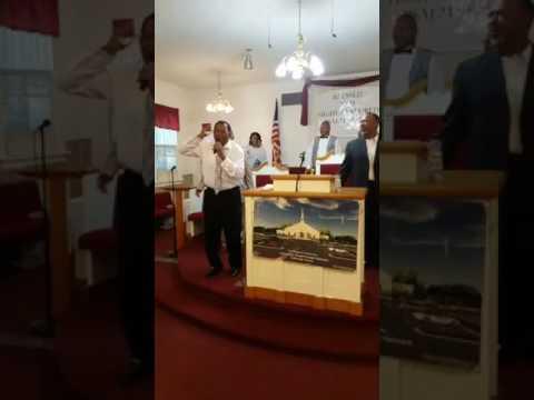 Pastor Wayne Redmond of Jackson Miss