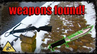 Magnet Fishing Finds - Even MORE Weapons FOUND!
