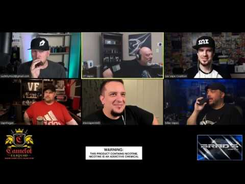 """The True Vapors show #203 """"Straight Outta Russia Alex with Vapers MD""""!!!"""